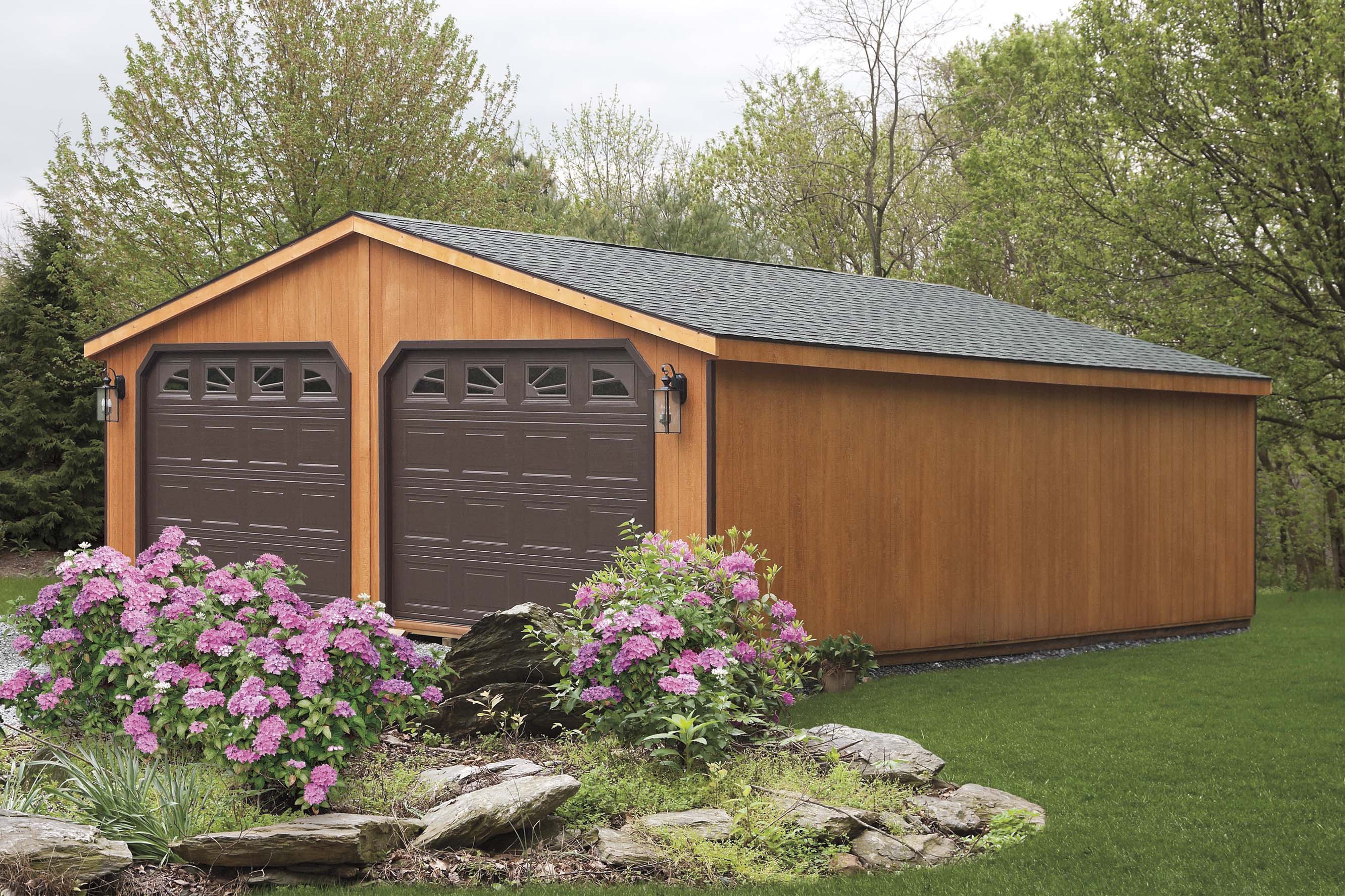 kits pine sheds products car garage barns garages ridge
