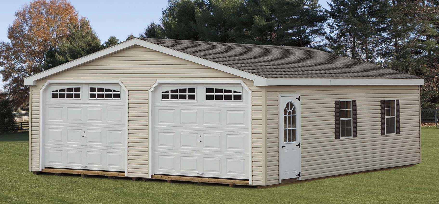 Sheds barns garages pine ridge barns for Garage bc automobile chateauroux