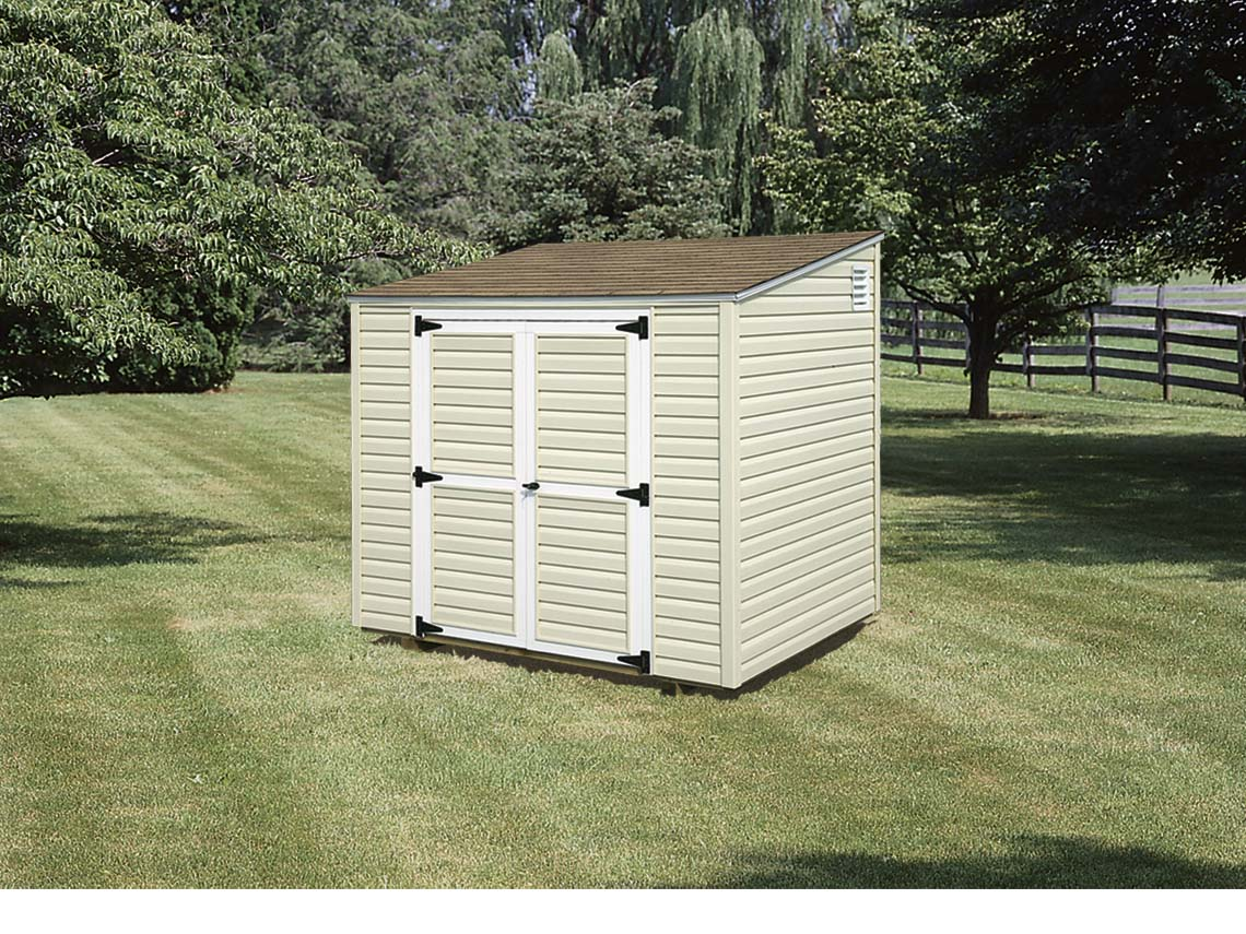 8x10 Metal Shed >> Sheds, Barns & Garages - Pine Ridge Barns
